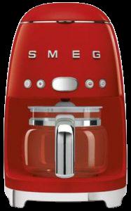 smeg vintage görünümlü filtre kahve makinesi