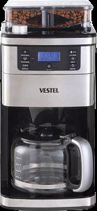 kahve çekirdeği öğüten filtre kahve makinesi